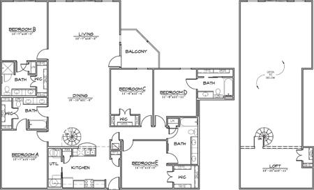 2,730 sq. ft. floor plan