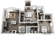 1,068 sq. ft. B1 floor plan