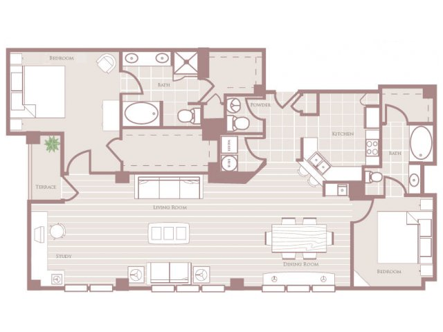 1,849 sq. ft. floor plan