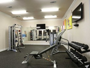 Fitness Center at Listing #144843