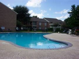 Pool Area at Listing #138989