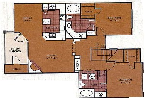 1,174 sq. ft. B4/MILAM floor plan