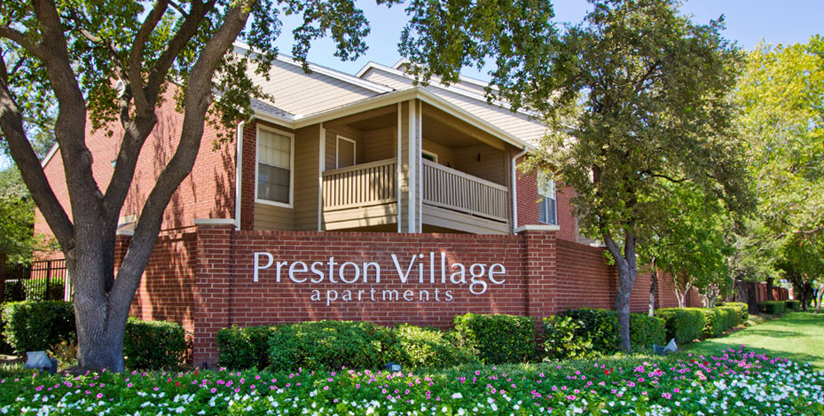 Preston Village Apartments Dallas TX