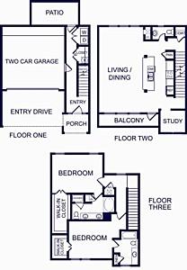 1,829 sq. ft. Gibraltar One floor plan