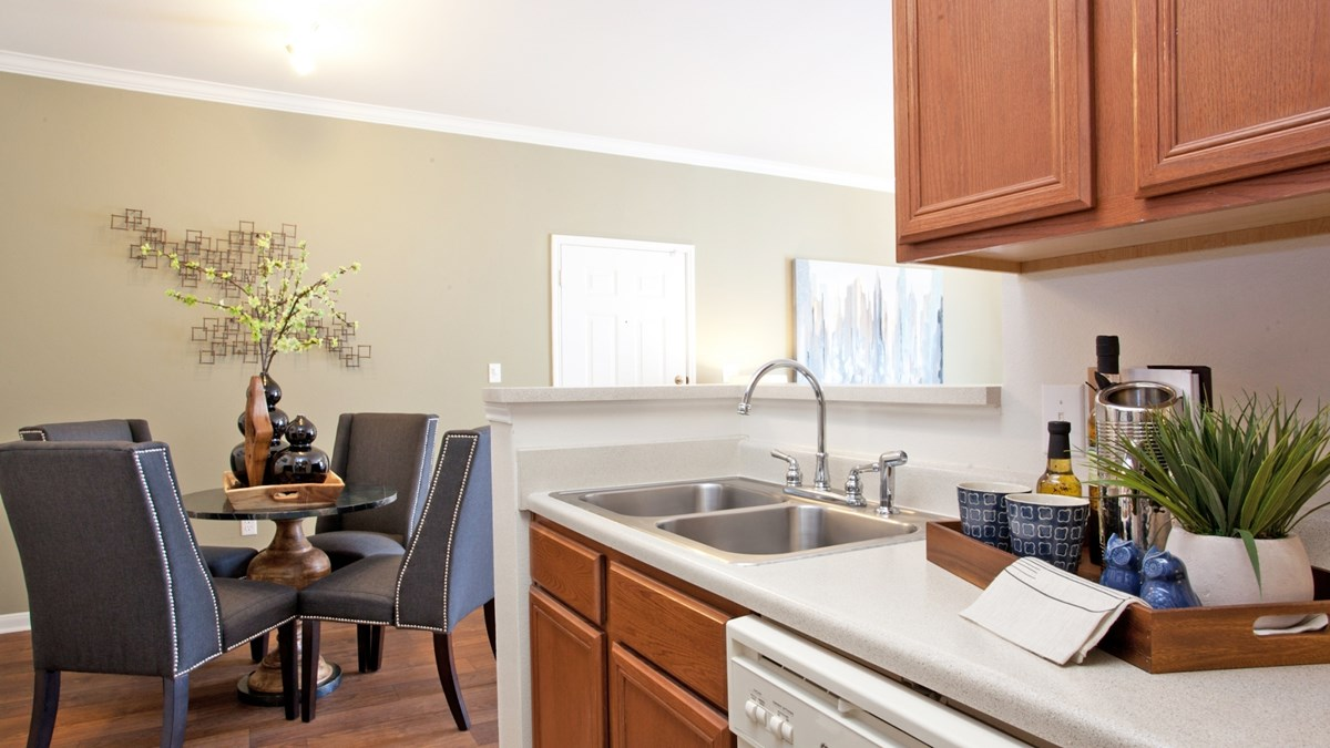 Dining/Kitchen at Listing #144139