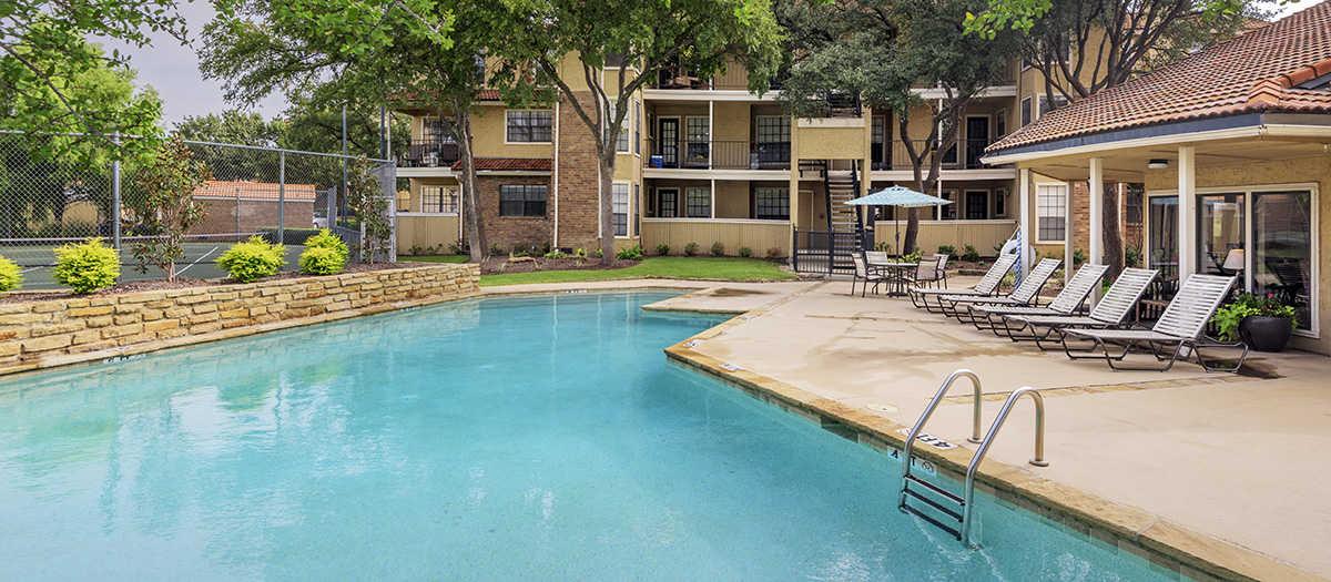 Pool at Listing #136247