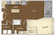 608 sq. ft. L1 floor plan