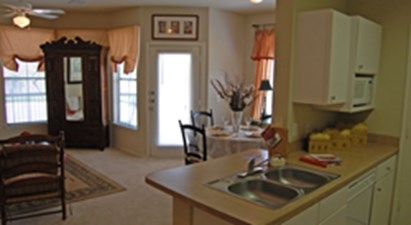 Living/Kitchen at Listing #141466