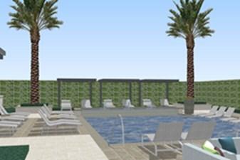 Pool at Listing #295415