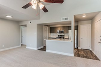 Living/Kitchen at Listing #138417