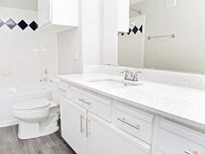 Bathroom at Listing #137758