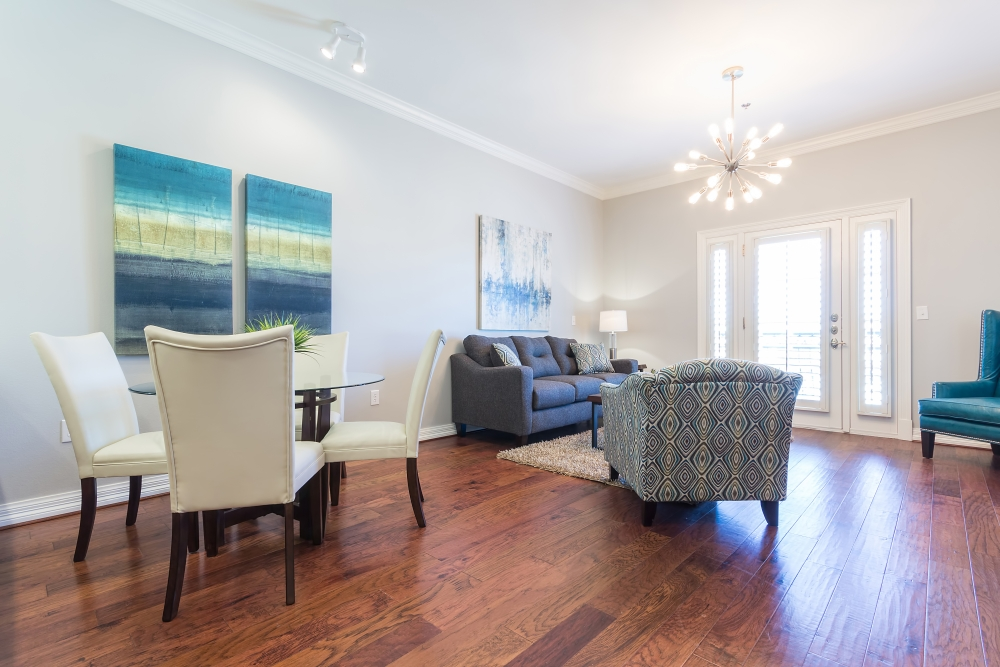 Living/Dining at Listing #266409