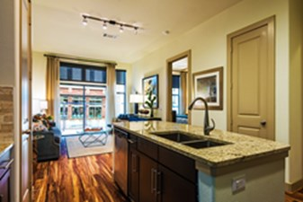 Living/Kitchen at Listing #266536