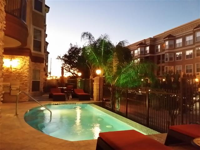 Hot Tub at Listing #144696