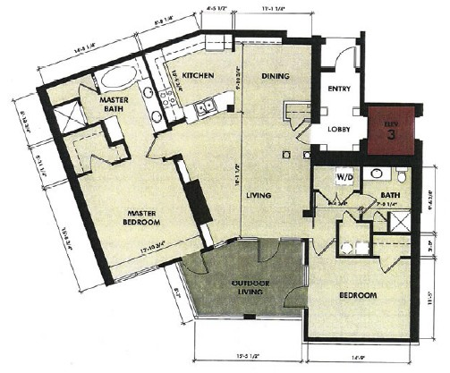 1,416 sq. ft. Neches floor plan
