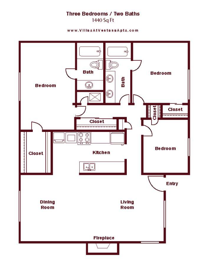 1,512 sq. ft. floor plan