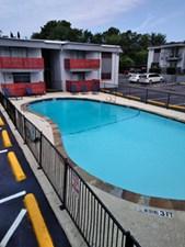 Pool at Listing #136478