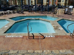 Pool Area at Listing #145920