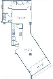 1,142 sq. ft. A13 floor plan