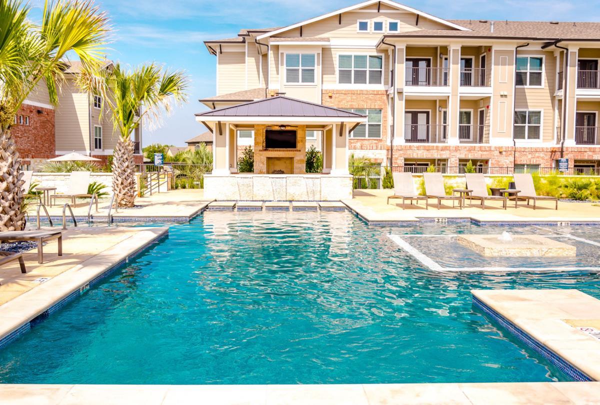 Pool at Listing #245817