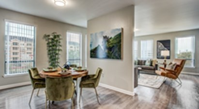 Living/Dining at Listing #144608