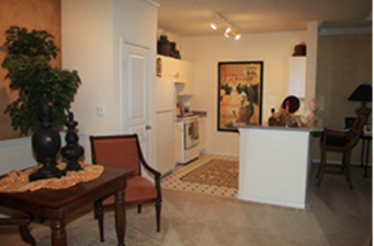 Dining/Kitchen at Listing #139378