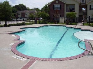 Pool Area at Listing #144158