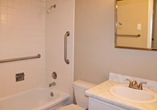 Bathroom at Listing #141223