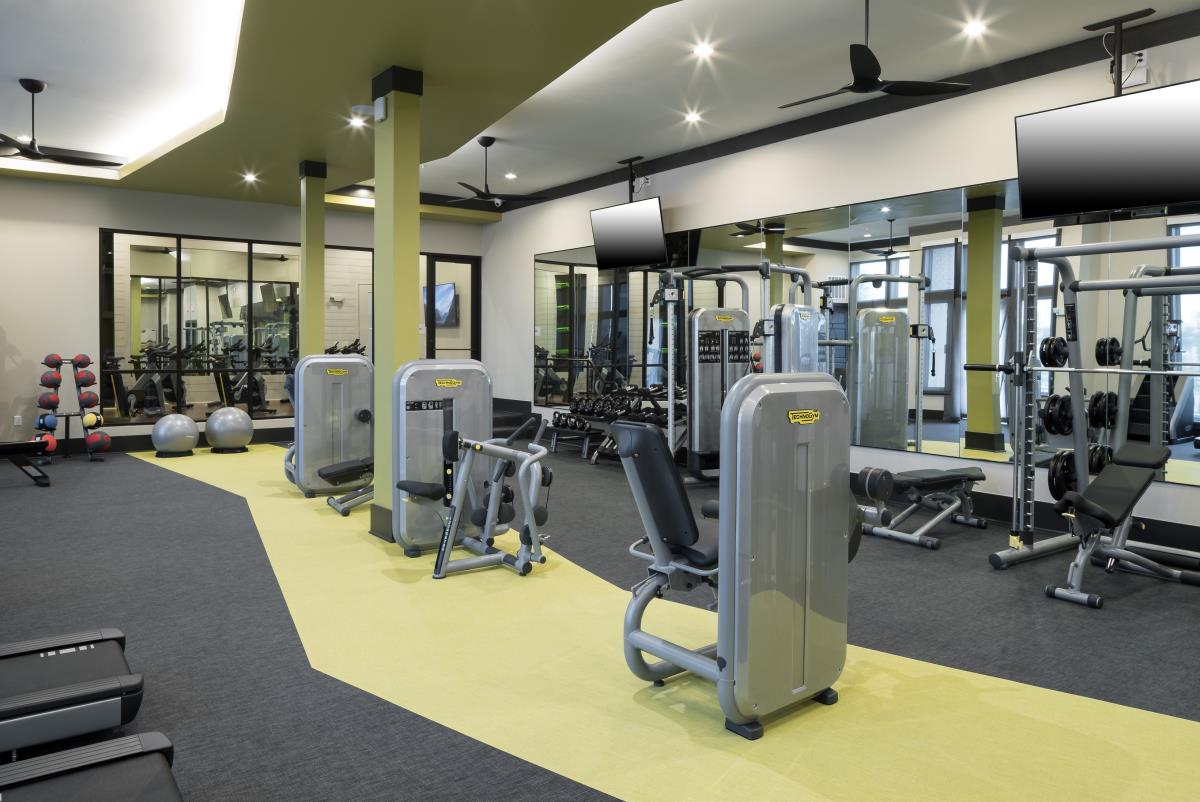 Fitness Center at Listing #287359