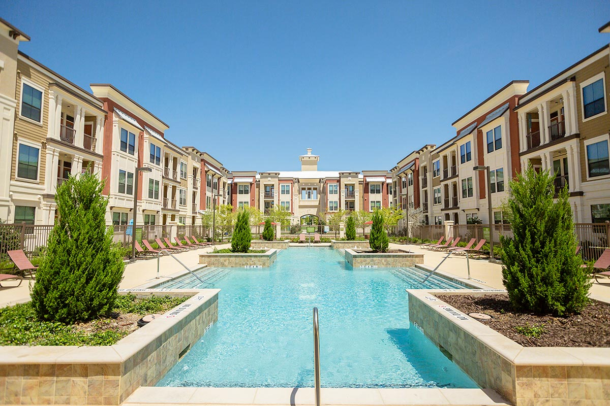 Pool at Listing #242442