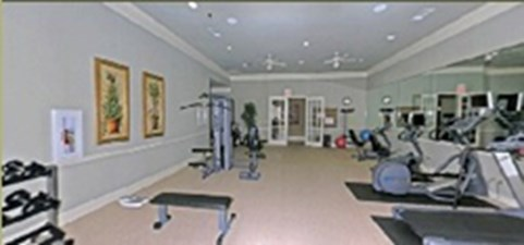 Fitness Center at Listing #144887