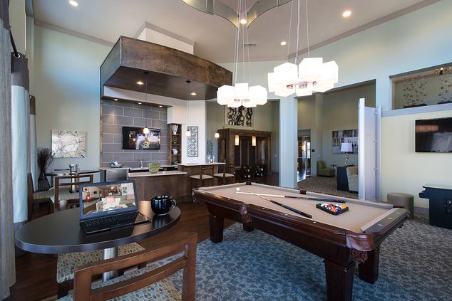 Gameroom at Listing #225600