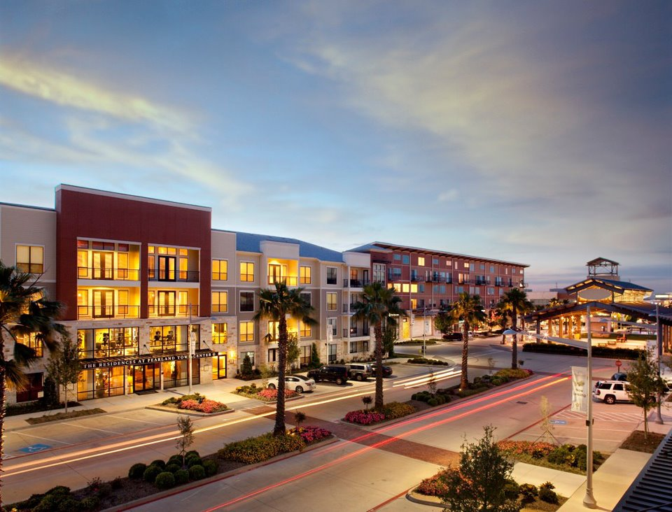 Residences at Pearland Town Center Pearland, TX