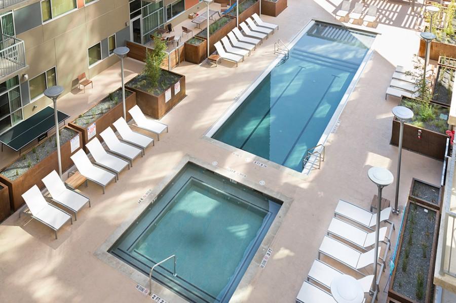 Pool at Listing #155007