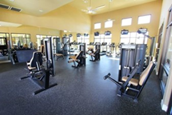 Fitness Center at Listing #146273