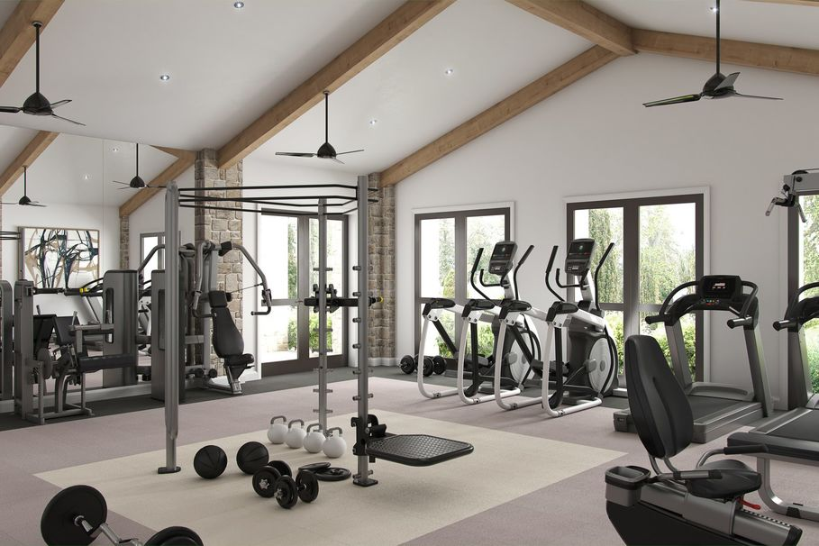 Fitness Center at Listing #147844