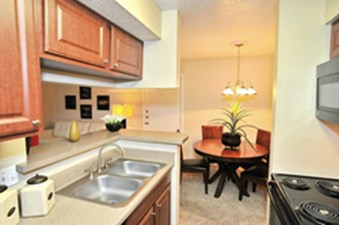 Dining/Kitchen at Listing #140518