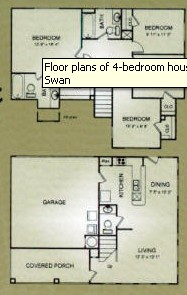 1,429 sq. ft. 30% floor plan