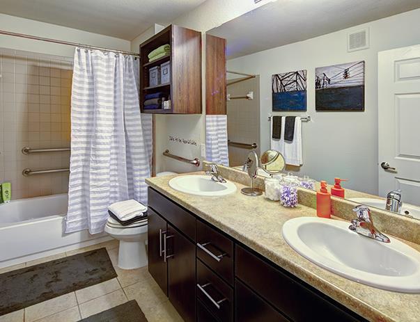 Bathroom at Listing #239555