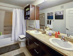 Bathroom at Listing #239555