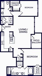 1,331 sq. ft. Zaragoza floor plan