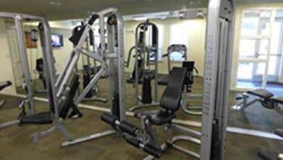 Fitness Center at Listing #150168