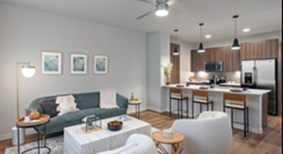 Living/Kitchen at Listing #329448