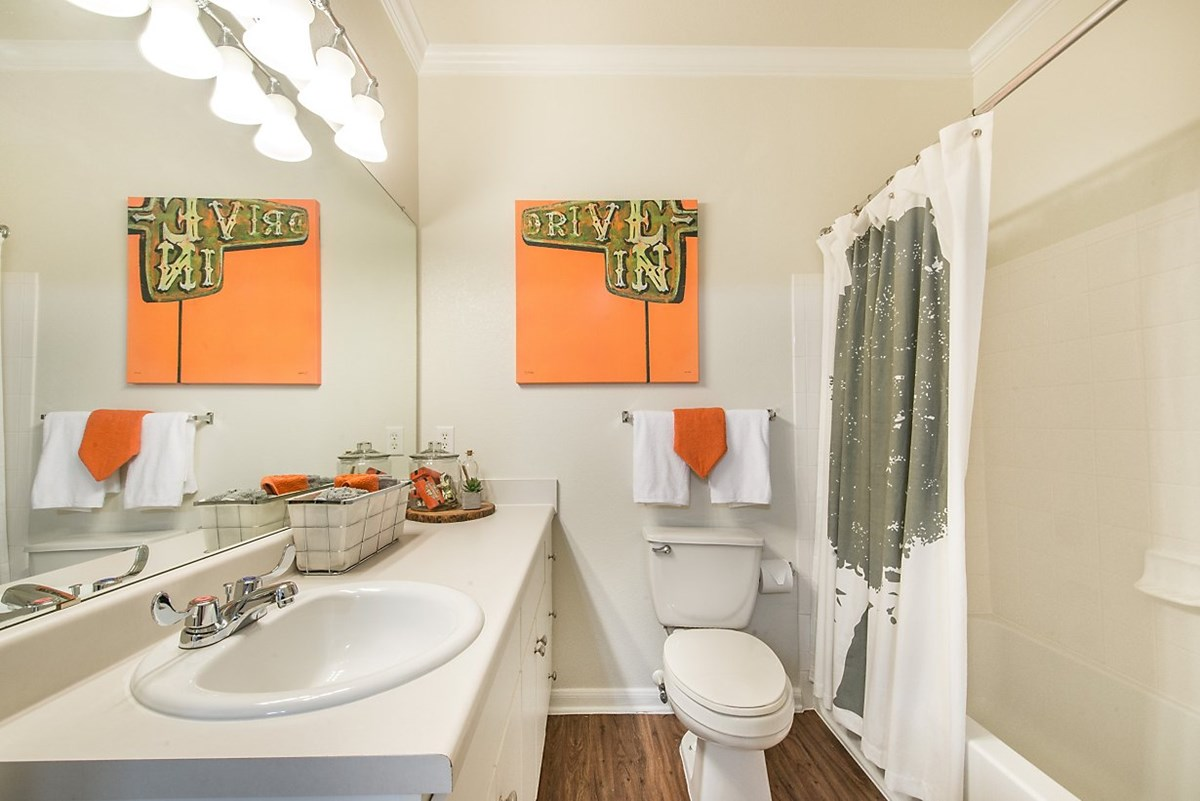 Bathroom at Listing #144567