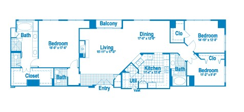 2,020 sq. ft. PT1 floor plan