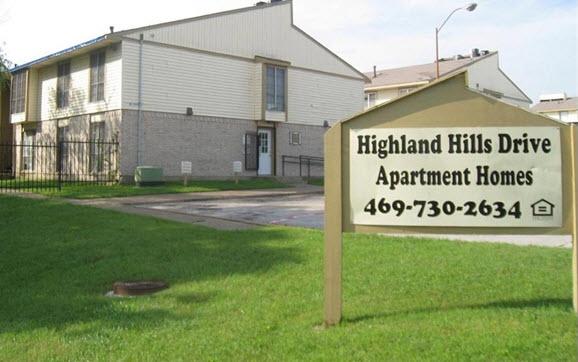 Highland Hills Apartments Dallas TX
