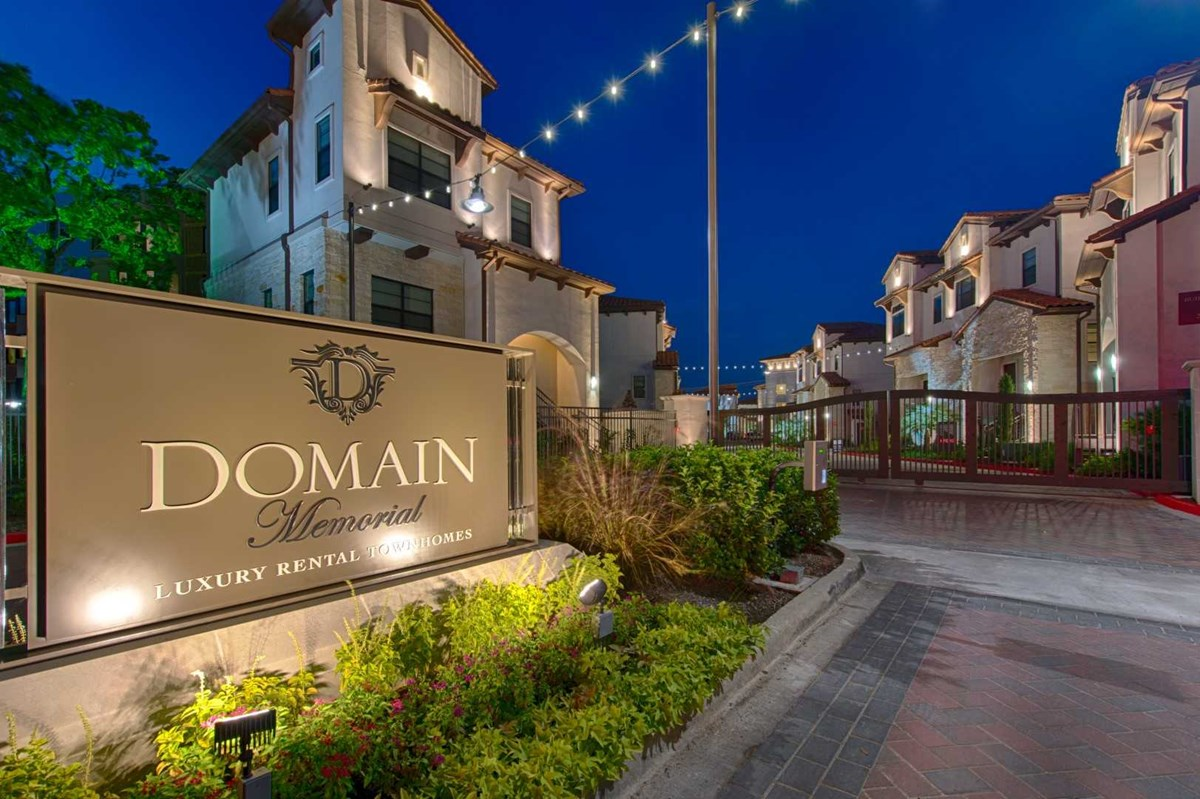 Domain Memorial Apartments Houston TX