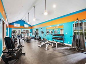 Fitness Center at Listing #136382