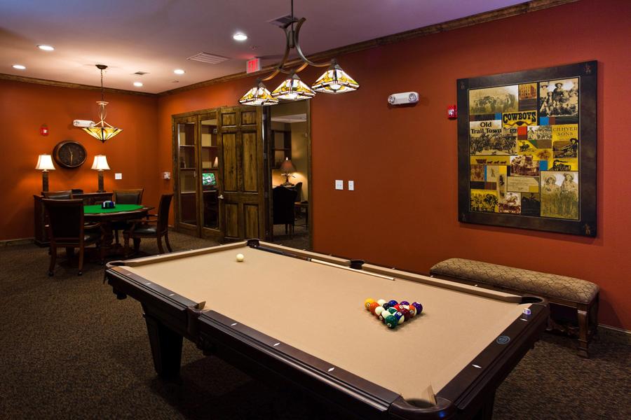 Gameroom at Listing #147490