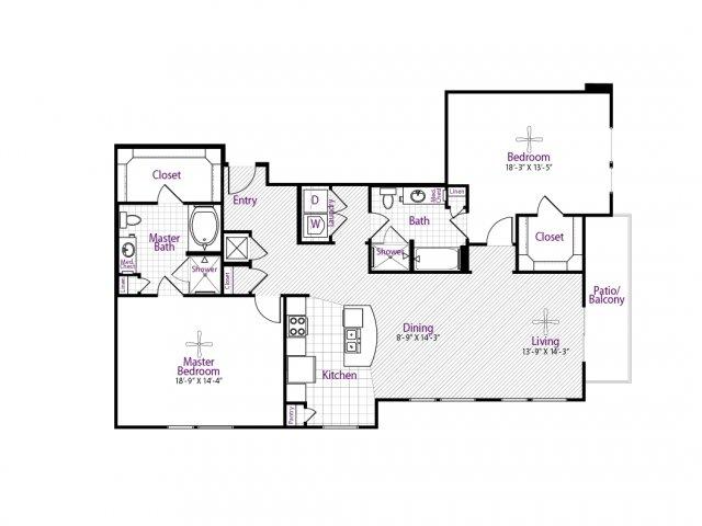 1,573 sq. ft. floor plan